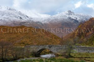 Dusting of Snow Beyond Eas-Nan-Arm at CharlesCockburn.com