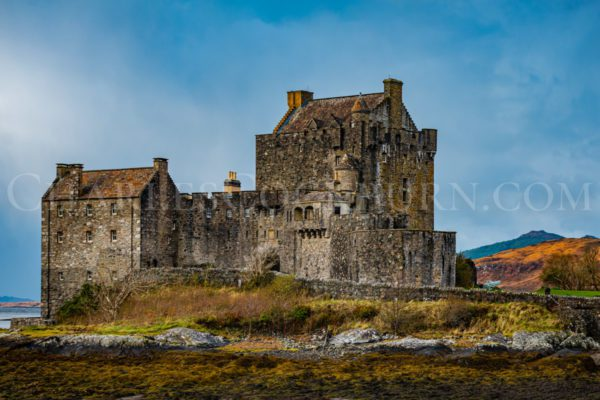 Eilean Donan Castle Autumn light at CharlesCockburn.com