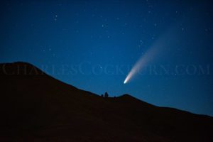 Comet Neowise shines brightly in the northern sky above Washington State