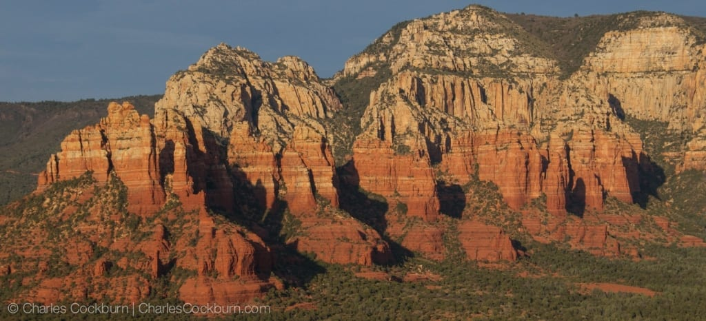 Sedona Red Rocks by Charles Cockburn