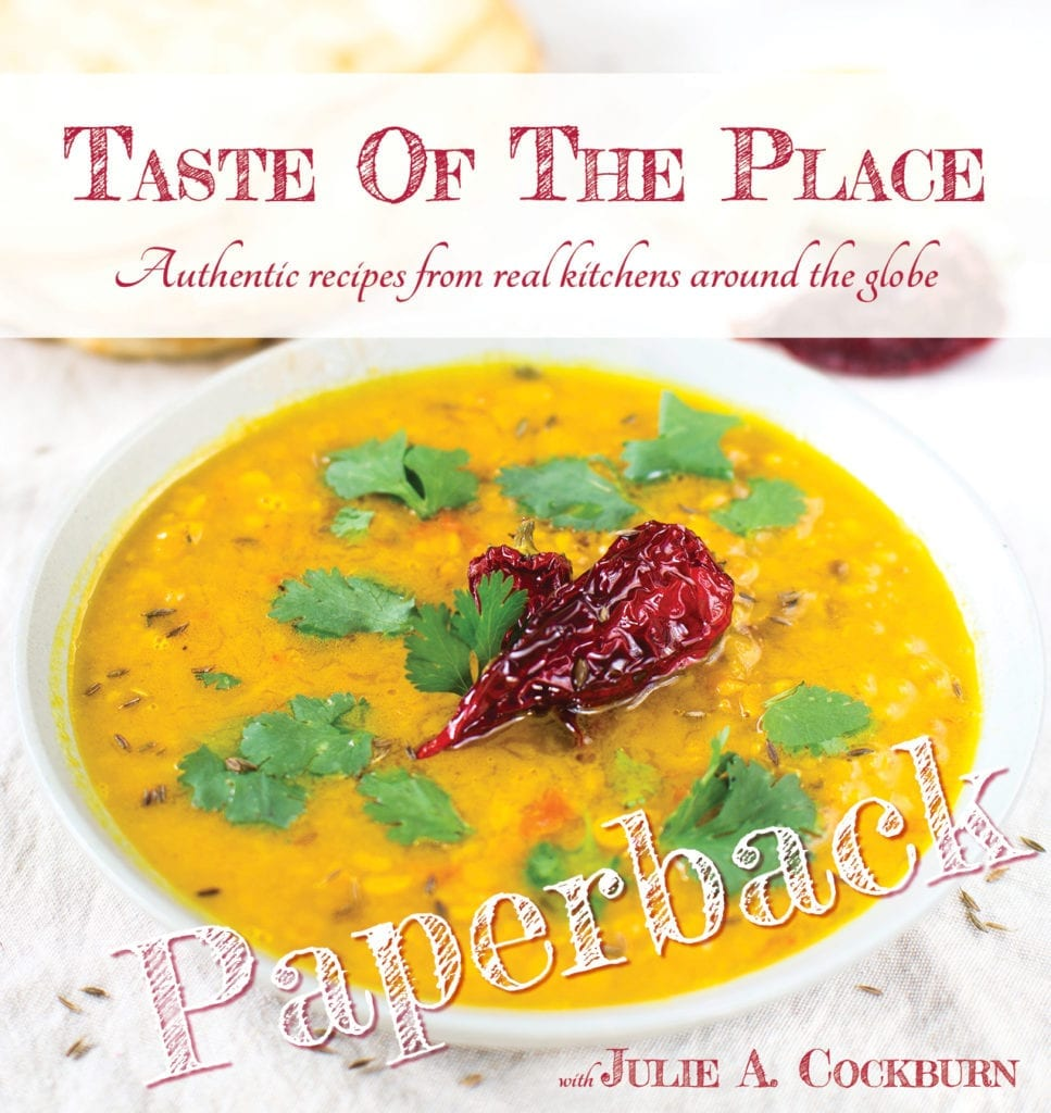 Taste Of The Place paperback thumbnail